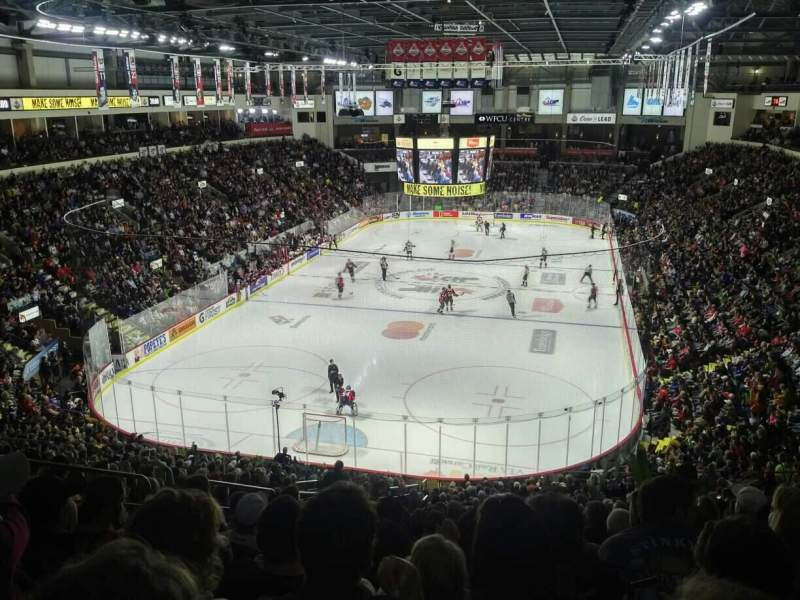 WFCU Centre, section: 108, row: YY, seat: 27