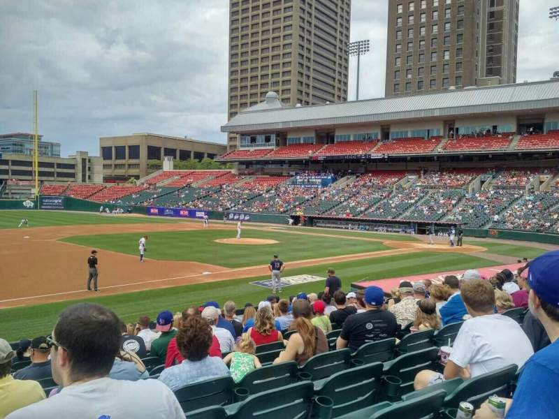 Coca-Cola Field, section: 115, row: O, seat: 17