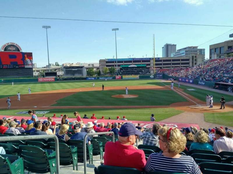 Coca-Cola Field, section: 109, row: U, seat: 11