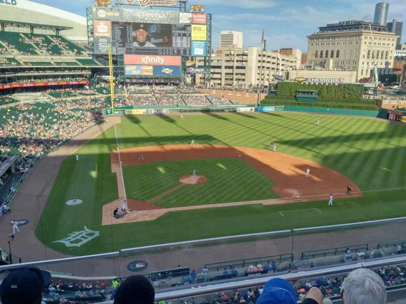 Seating view for Comerica Park Section 324 Row C Seat 5