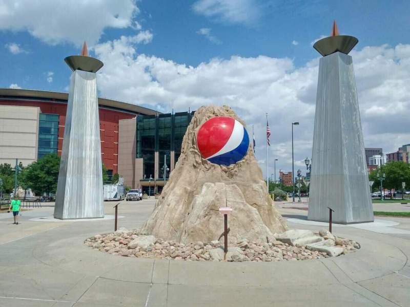 Pepsi Center, section: exterior