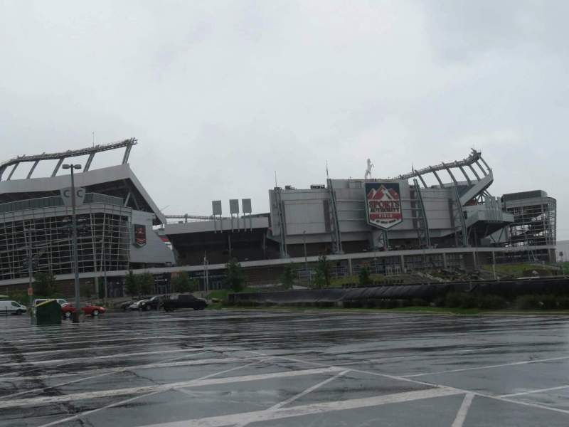 Invesco Field at Mile High, section: exterior