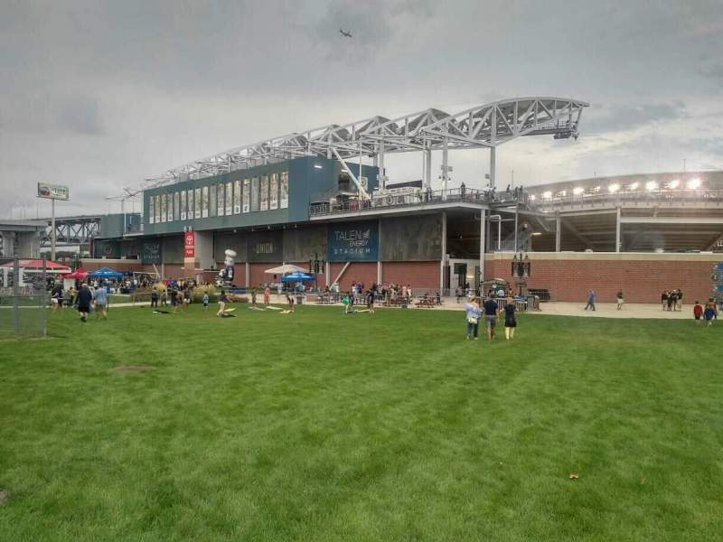 Seating view for Talen Energy Stadium Section exterior