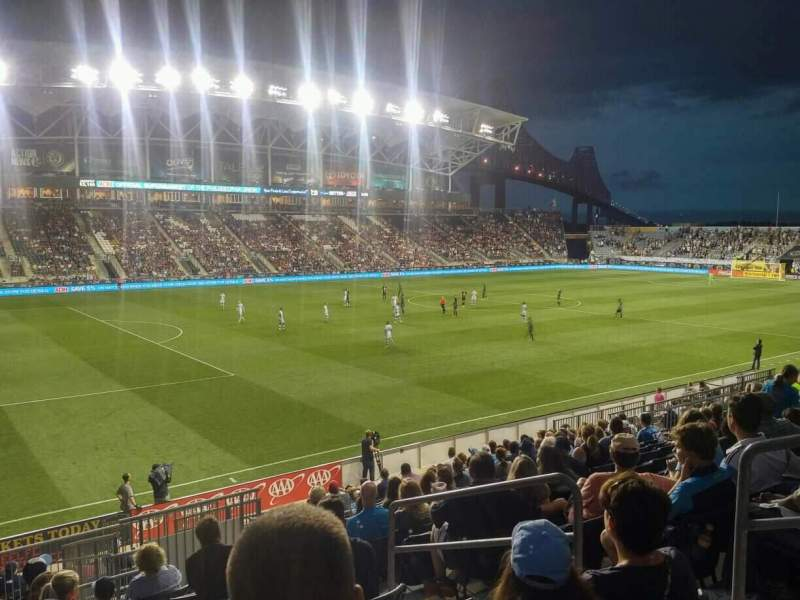Seating view for Talen Energy Stadium Section 112 Row T Seat 5