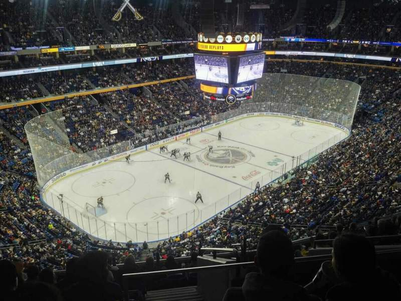 KeyBank Center, section: 324, row: 10, seat: 3