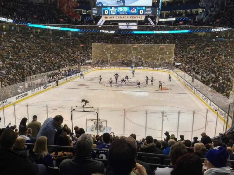 Seating view for Scotiabank Arena Section 113 Row 21 Seat 10