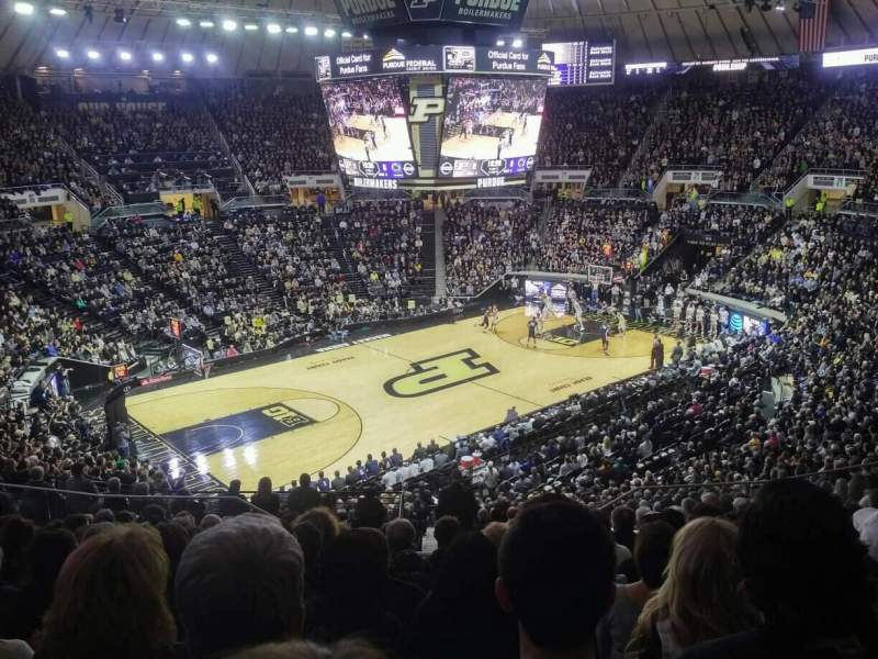 Seating view for Mackey Arena Section 103 Row 15 Seat 14