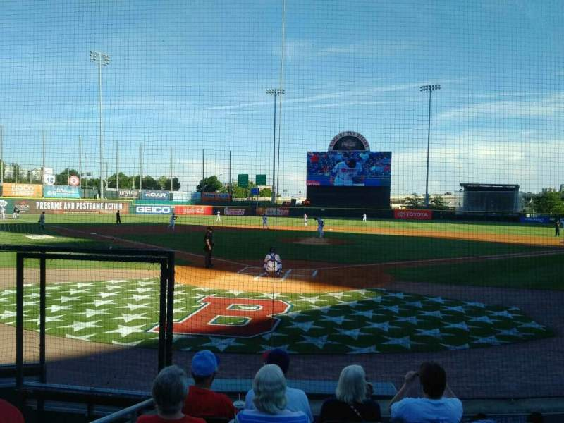 Coca-Cola Field, section: 102, row: F, seat: 12