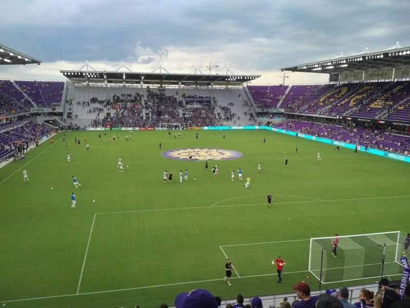 Orlando City Stadium, section: 105, row: L, seat: 19