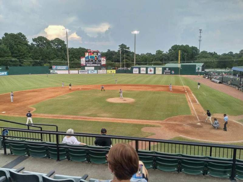 Seating view for Hank Aaron Stadium Section 109 Row 4 Seat 10