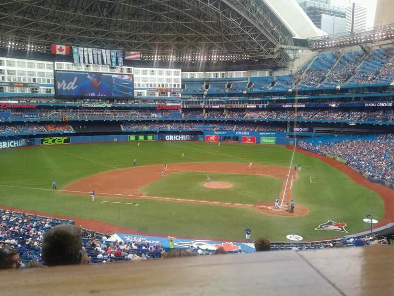 Seating view for Rogers Centre Section 227R Row 10 Seat 4