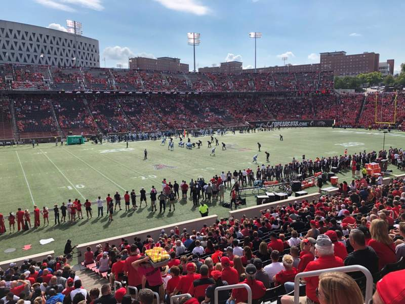Seating view for Nippert Stadium Section 126 Row 30 Seat 5