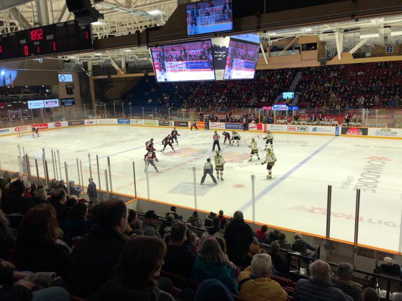 Seating view for North Bay Memorial Gardens Section 5 Row J Seat 27
