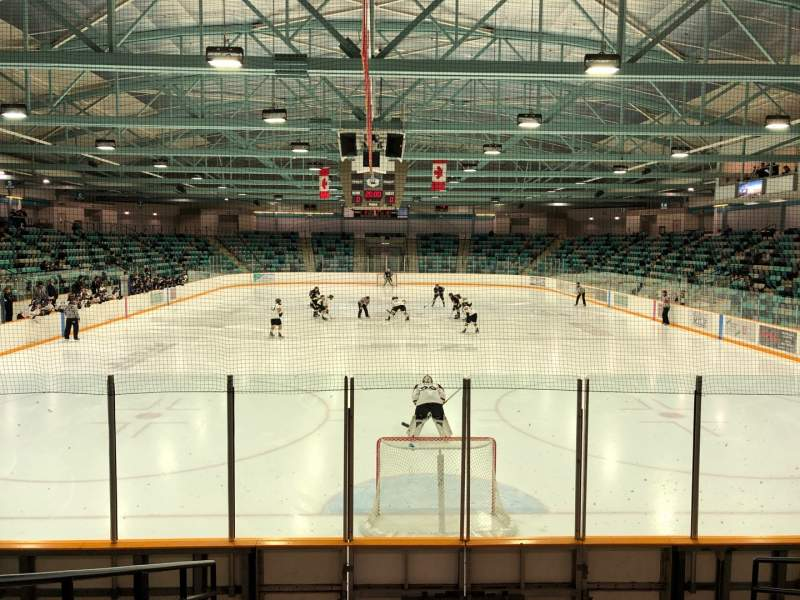 Seating view for Waterloo Memorial Recreation Complex Section 23 Row H Seat 7