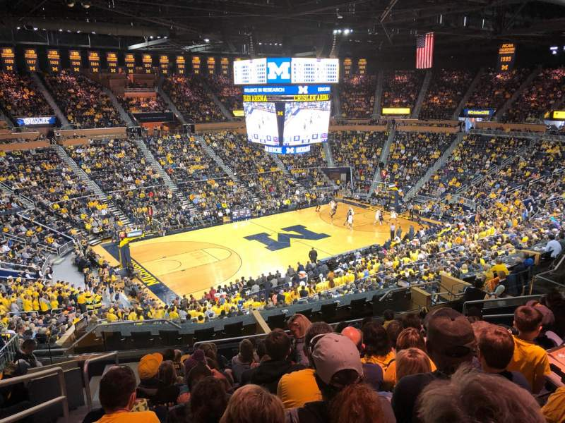Seating view for Crisler Center Section 226 Row 32 Seat 11