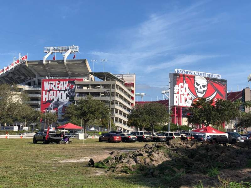 Seating view for Raymond James Stadium Section Exterior