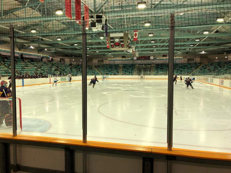 Seating view for Waterloo Memorial Recreation Complex Section 21 Row C Seat 3