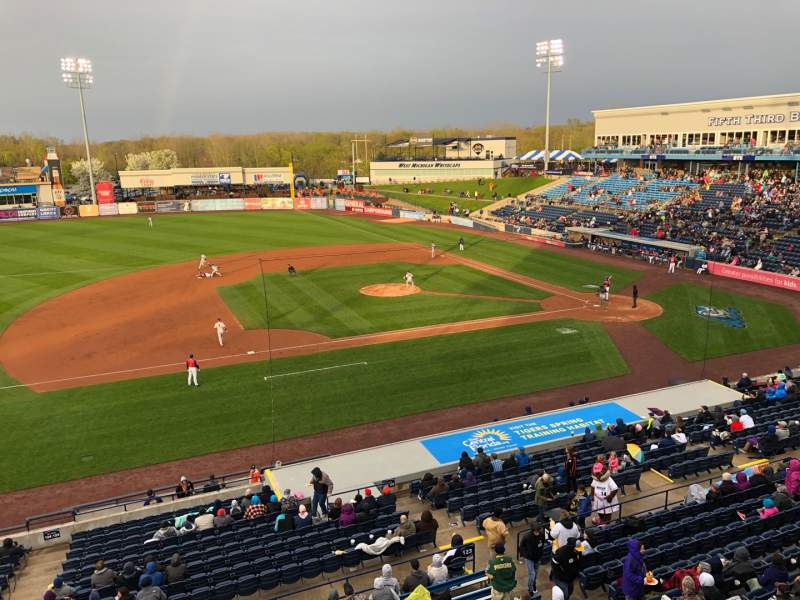 Seating view for Fifth Third Ballpark Section Suite 321