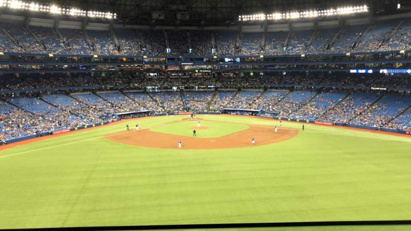 Seating view for Rogers Centre Section SL12 Row A Seat 39