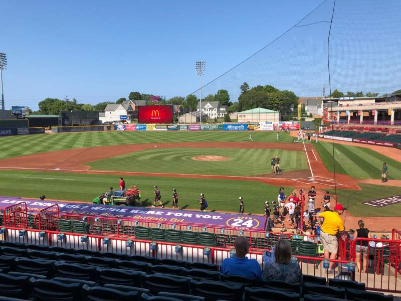 Seating view for UPMC Park Section 209 Row GG Seat 5