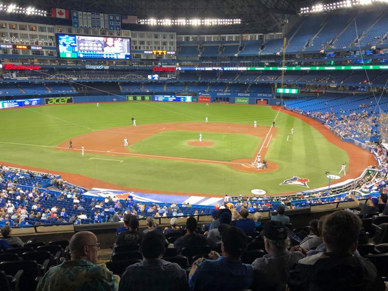 Seating view for Rogers Centre Section 226L Row 10 Seat 104
