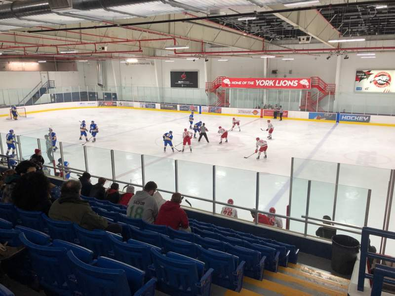Seating view for Canlan Ice Sports – York