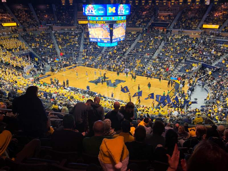 Seating view for Crisler Center Section 220 Row 37 Seat 7