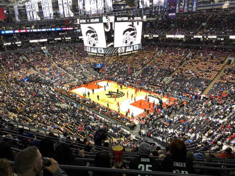 Seating view for Scotiabank Arena Section 306 Row 10 Seat 8
