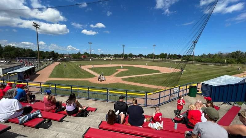 Seating view for Bernie Arbour Memorial Stadium Section GA
