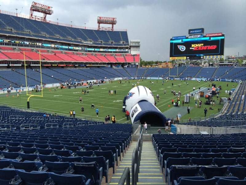 Seating view for Nissan Stadium Section 142 Row jj Seat Next to 24