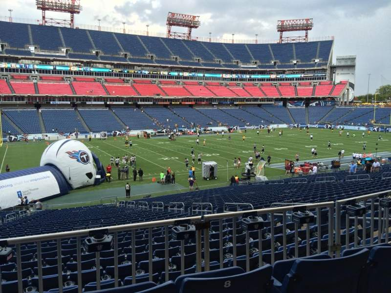 Seating view for Nissan Stadium Section 139 Row HH Seat 9