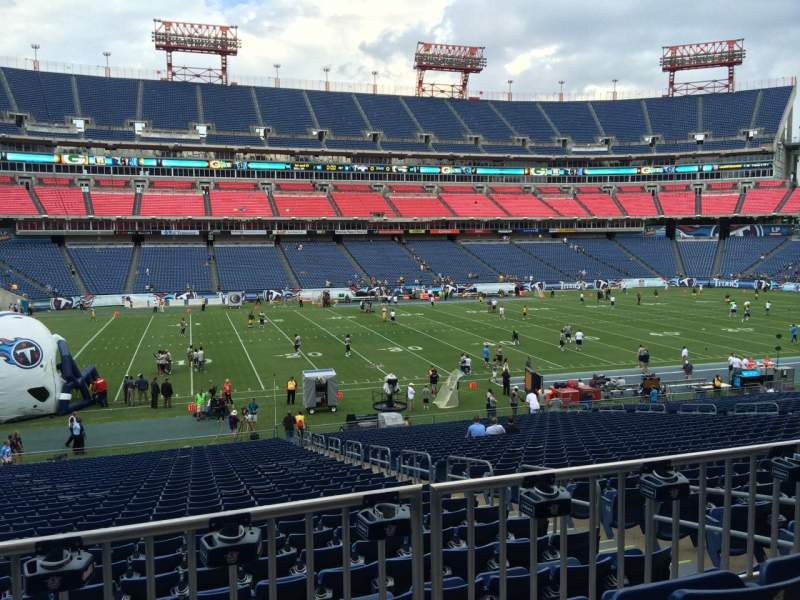 Seating view for Nissan Stadium Section 138 Row HH Seat 6
