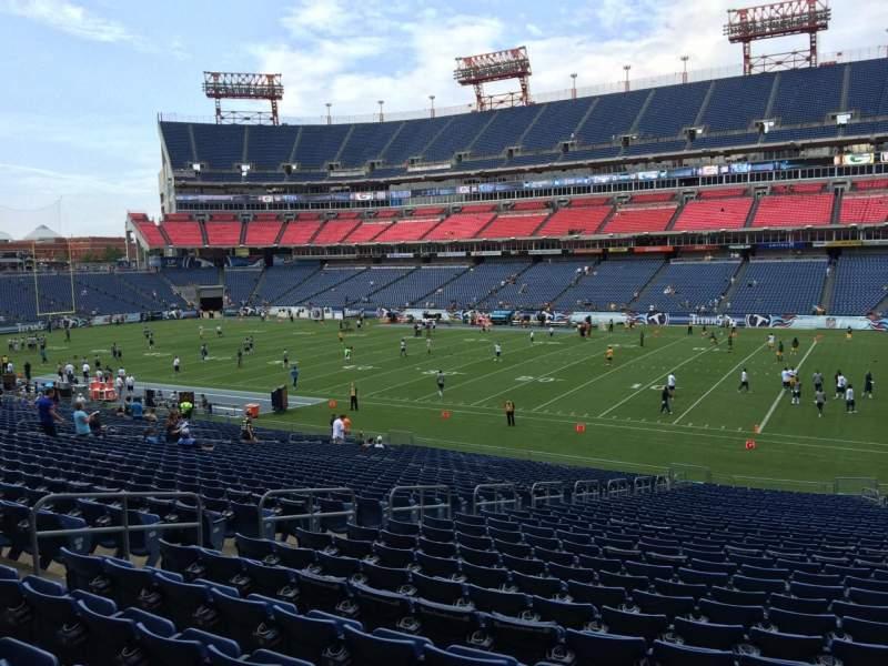 Nissan Stadium, section: 131, row: JJ, seat: 8