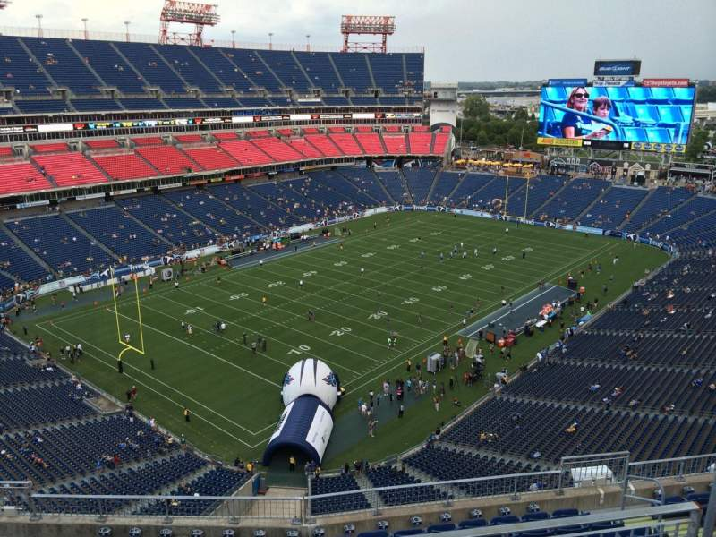 Seating view for Nissan Stadium Section 343 Row K Seat 6