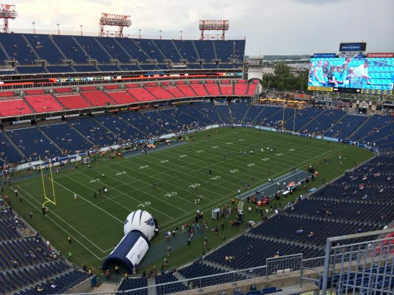 Seating view for Nissan Stadium Section 342 Row K Seat 6