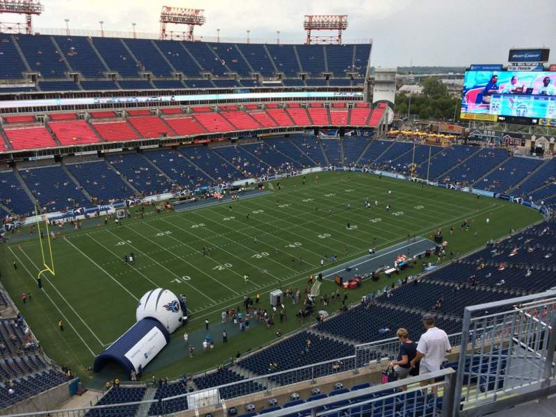 Seating view for Nissan Stadium Section 341 Row K Seat 4