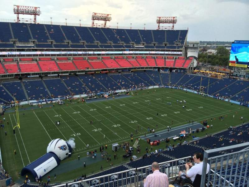 Seating view for Nissan Stadium Section 340 Row K Seat 5