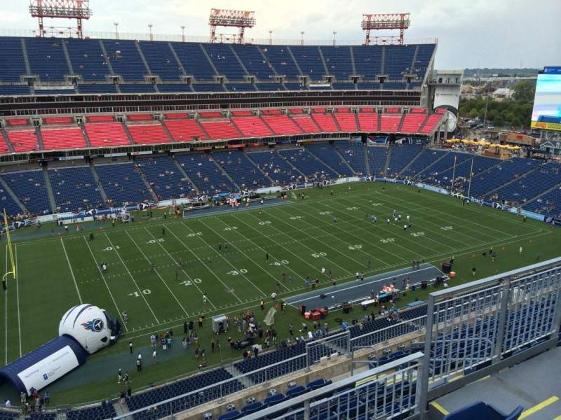 Seating view for Nissan Stadium Section 339 Row K Seat 6