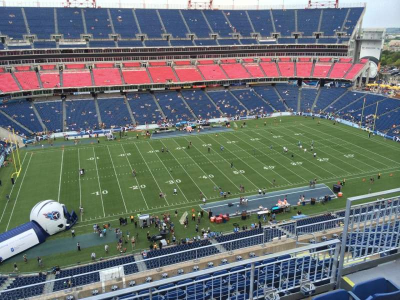 Seating view for Nissan Stadium Section 338 Row K Seat 5