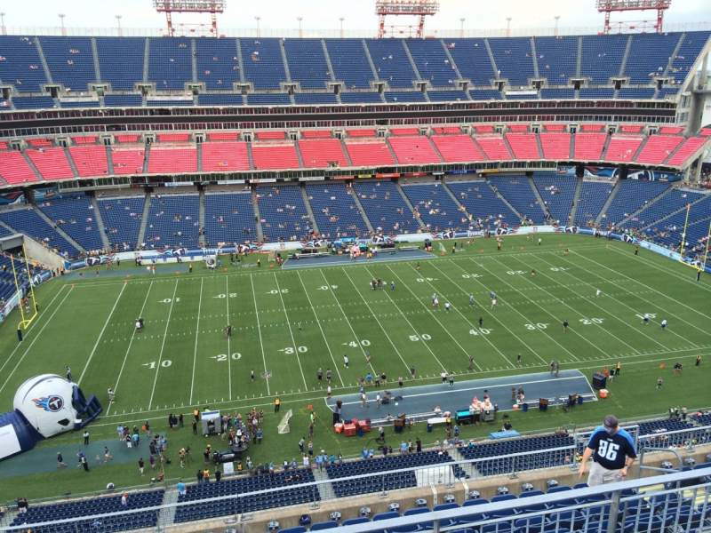 Seating view for Nissan Stadium Section 337 Row K Seat 8