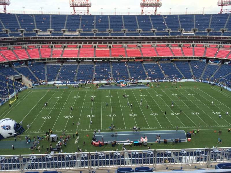 Seating view for Nissan Stadium Section 336 Row K Seat 10