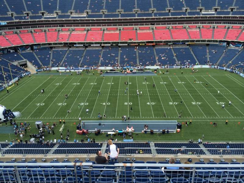 Seating view for Nissan Stadium Section 335 Row K Seat 8