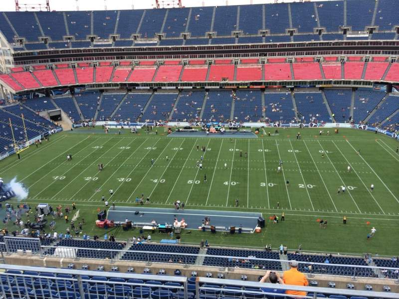 Seating view for Nissan Stadium Section 334 Row K Seat 7