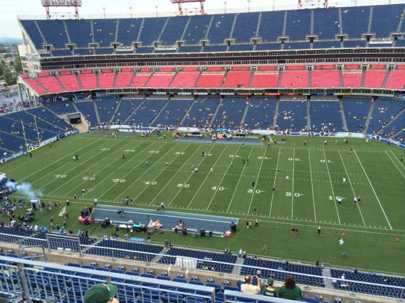 Seating view for Nissan Stadium Section 333 Row K Seat 6