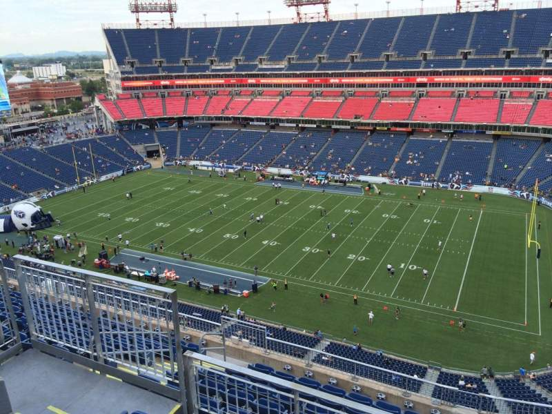 Seating view for Nissan Stadium Section 331 Row K Seat 9