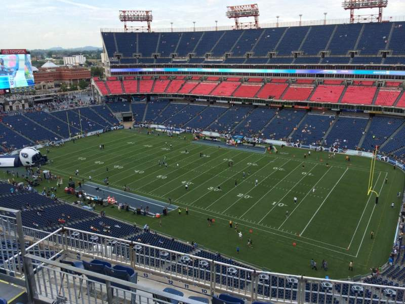 Seating view for Nissan Stadium Section 330 Row K Seat 9