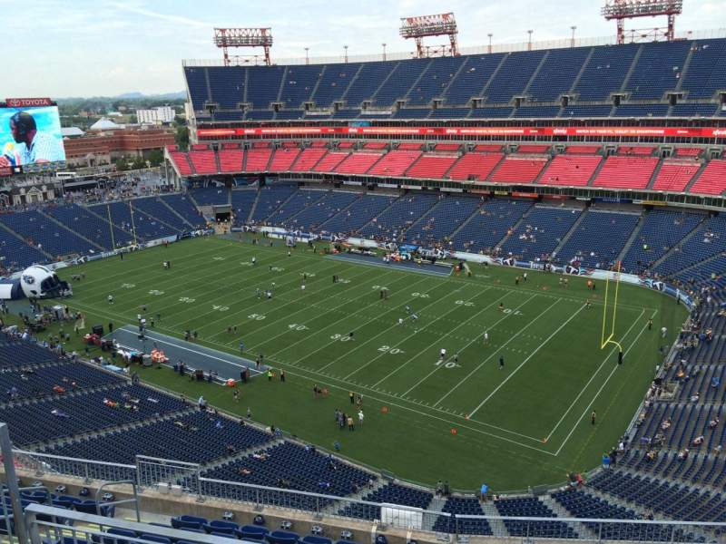 Seating view for Nissan Stadium Section 329 Row K Seat 9