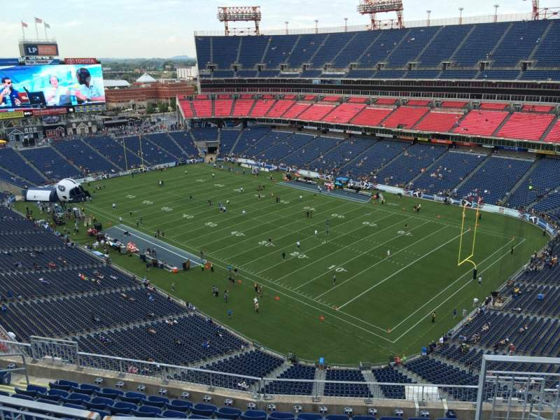 Seating view for Nissan Stadium Section 328 Row K Seat 4