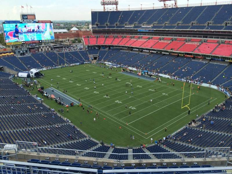 Seating view for Nissan Stadium Section 327 Row K Seat 5