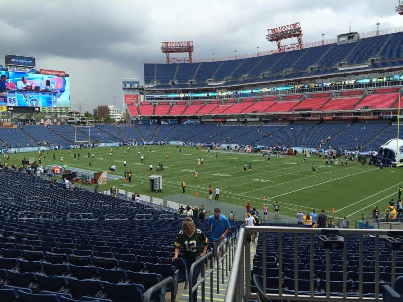 Seating view for Nissan Stadium Section 106 Row HH Seat 14